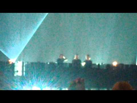 Swedish House Mafia – Calling / Epic @ Friends Arena 24.11.2012