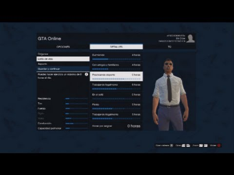 Gta v online edita tu personaje youtube for Cuarto personaje gta 5