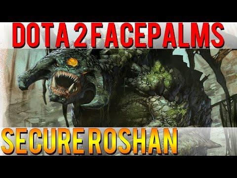 Dota 2 Facepalms - Secure Roshan