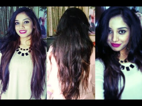 abHair Clip in human hair extensions review and tutorial. (how to add volume to your hair)
