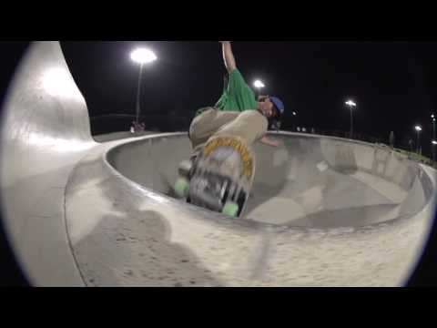 Santa Cruz boys get down at Power Inn Park in Sacramento