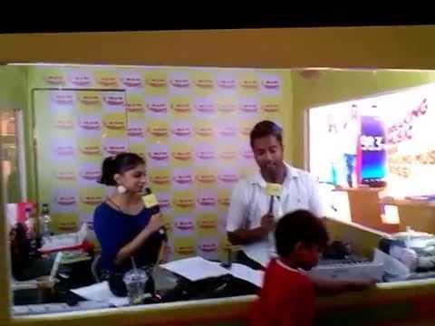 Rj Suren & Rj Meera on air at Oberoi mall Mumbai