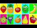 Ten In The Bed Fruits | Nursery Rhymes For Kids And Childrens...