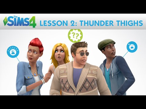The Sims 4 Academy: Thunder Thighs - Lesson 2: Create A Sim