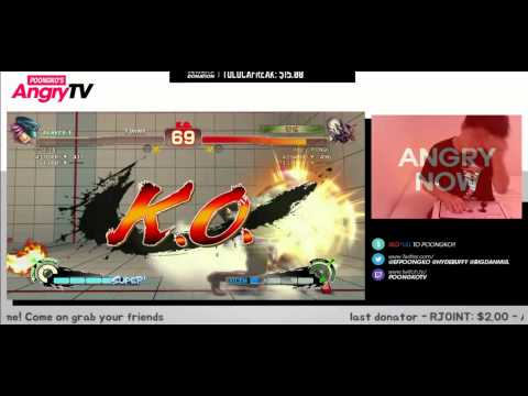 -6 (Poison) vs YHC-mochi (Dhalsim) vs ANGRY Poongko (Seth) - USF4 Matches