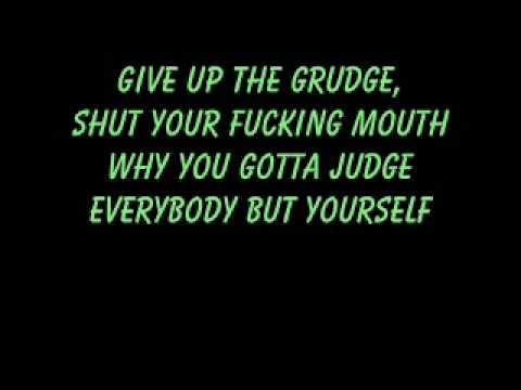 Give Up The Grudge- Lyrics