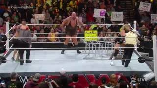 John Cena vs. Big Show: Raw, December 8, 2014