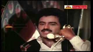 Kaliyuga Krishnudu Telugu Movie Scene -HD - Bala Krishna, Radha, Sarada