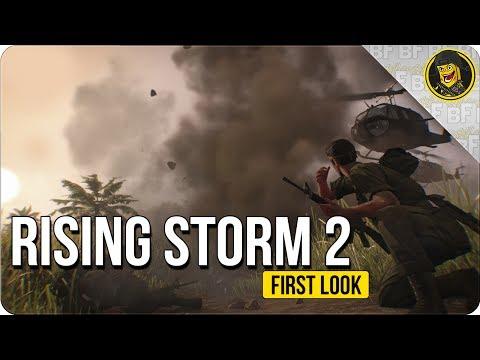First Look - Rising Storm 2: Vietnam - EPIC VIETNAM FPS!