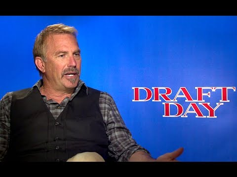 Kevin Costner Interview - Draft Day (2014) JoBlo.com HD