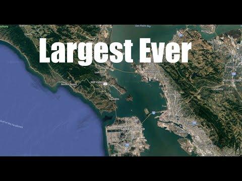 200,000lb creature found near San Francisco | Crane needed to remove!