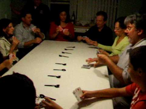 Spoons Game Card Spoons Card Game