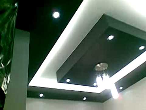 Drywall Techos De Sala Youtube