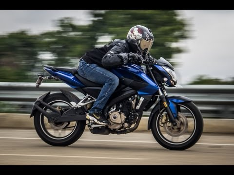Bajaj Pulsar 200NS top speed -151kmph & 0-100