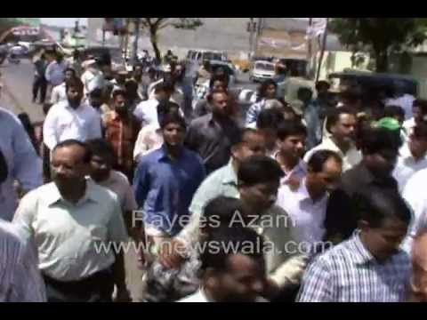 Newswala : Hyderabad Collector In Prajapatham Programme At Chowni Nade Ali Baig. video