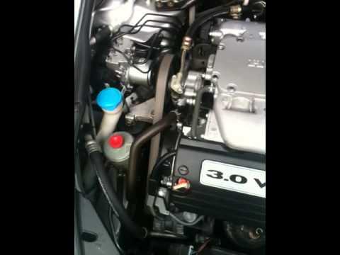 06 Honda Accord Power Steering Pump Noise Youtube