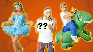 RATING My WIFE & SON'S HALLOWEEN OUTFITS! WHO WILL WIN?? | The Royalty Family
