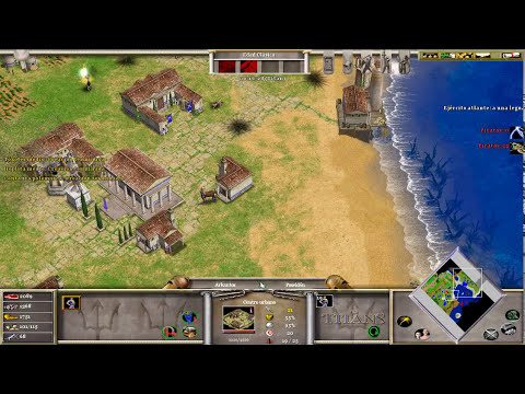 Age of Mythology - The Titans Expansion modo Titan en español 1° Parte