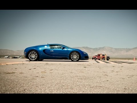 2012 Bugatti Veyron Grand Sport at the Mojave Mile – 200-mph Club – CAR and DRIVER
