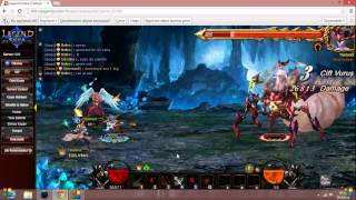 Legend Online  s89 Sihirli Kabile 3kişi Son Boss