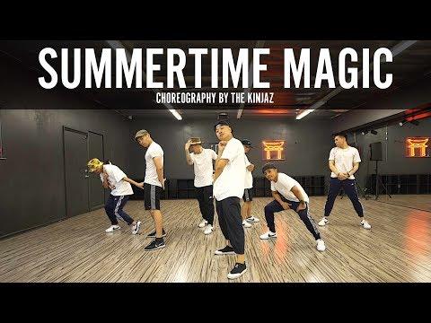 "Childish Gambino ""Summertime Magic"" Choreography by The Kinjaz"