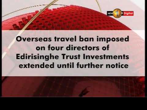 travel ban on eti di|eng