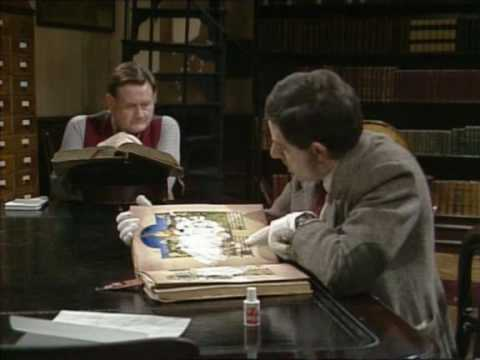 Mr Bean - Library video