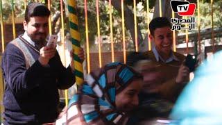 المصريون فى شم النسيم.. ضحك ولعب وبهجة