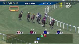 Gulfstream Park March 22, 2019 Race 2