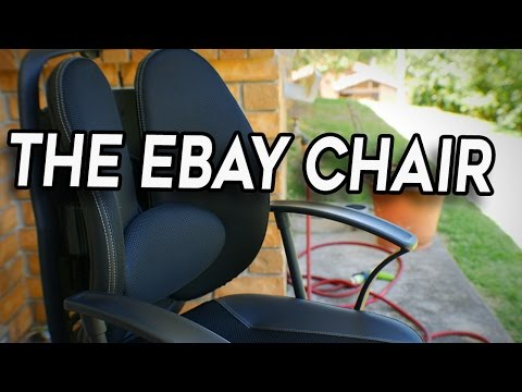 My New 'Gaming' Chair - The Ebay 'Korean Office' $120 AUD Special
