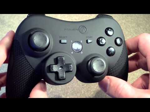Power A Playstation 3 Controller Review - Xbox 360 Style controller for PS3 - Pro Elite