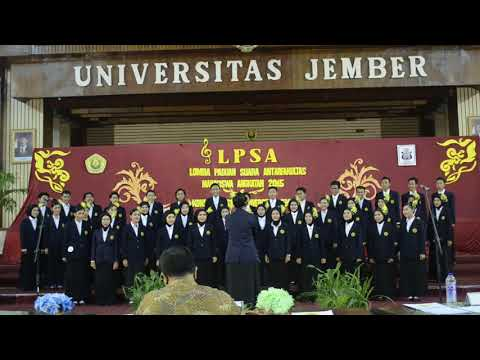 Hymne Universitas Jember - LPSA 2016 Fakultas Pertanian