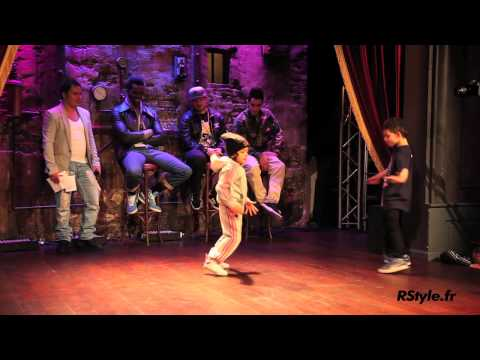 Amazing!!! Terra (6ans) VS Eudes (9ans) Jamel Dance Club / RStyle
