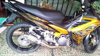 Exciter 135 ( LC135 , Spark135) with AHM Pro Racing Exhaust