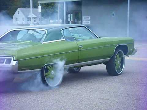 Donks burning rubber