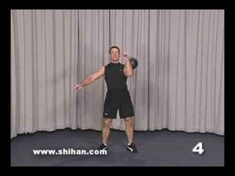 Steve Cotter Kettlebell Combo Lift Clean Squat Press Image 1