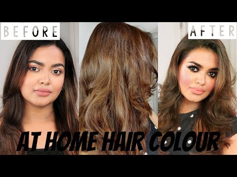 How to Colour Hair At Home | No Bleaching No Brasiness | Golden Ash Blonde | HIGHLY REQUESTED