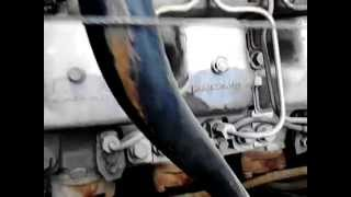 * Russian military truck *  URAL - 4320 engine sound - V8