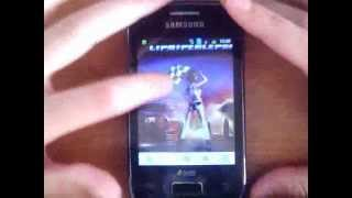 how to install samsung galaxy dous young adobe flash player