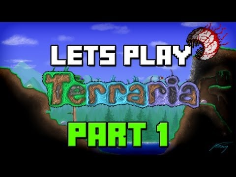 Lets Play Terraria 1.2 Update | Part 1 | Welcome To 1.2 (Terraria 1.2 Gameplay / Playthrough)