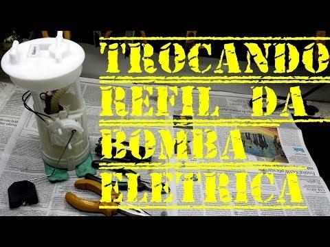 COMO TROCAR O REFIL DA BOMBA ELETRICA
