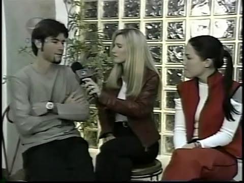 Jonathan Montenegro,Chantal Baudaux, Entrevista, 2000.