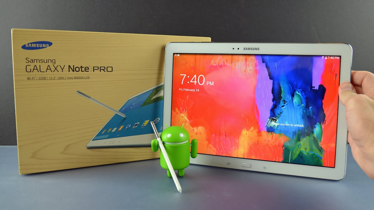 samsung galaxy note pro 12 2 unboxing overview youtube. Black Bedroom Furniture Sets. Home Design Ideas