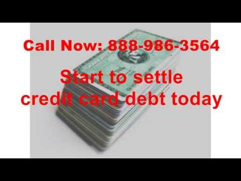 Settle credit card debt