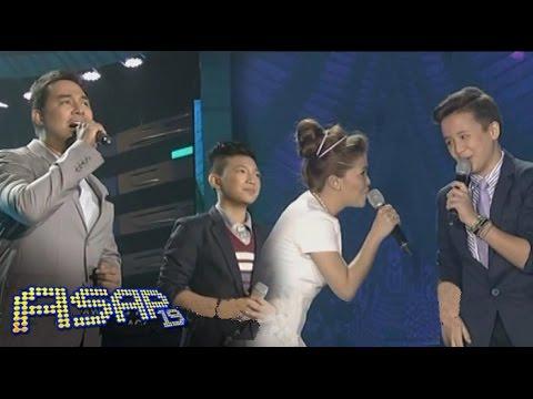 Darren, Juan Karlos sing with KZ Tandingan & Jed Madela