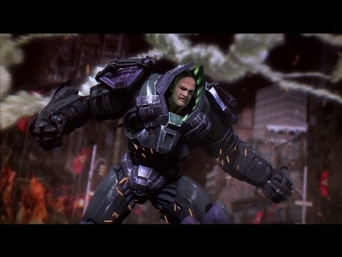 Injustice Gods Among Us El Pelon De Brazzer,bruce Willis? No, Lex Luthor   Parte 9 video
