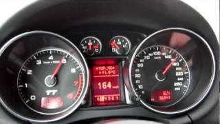 Audi TT 3.2 V6 on german Autobahn