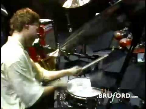 Bill Bruford Drum Solo - Frankfurt 1987
