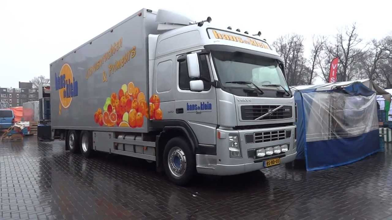 NEW VOLVO Cab Over SEMI Truck EURO Mercedes Truck in Netherlands - YouTube