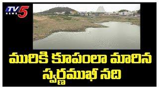 మురికి కూపంలా మారిన స్వర్ణముఖీ నది | Srikalahasti